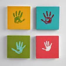Diy: Cuadros Diy Fuente: http://www.decoracionbebes.es/cuadros-ideales-para-la-habitacion-del-bebe/