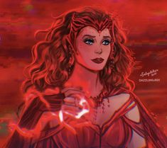 Marvel Comics, Marvel E Dc, Marvel Fan Art, Marvel Women, Scarlet Witch Costume, Scarlet Witch Marvel, Marvel Universe, Witch Wallpaper, Witch Powers
