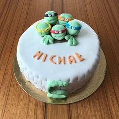 Żółw ninja tort  Ninja turtle cake diy Diy Cake, Ninja, Turtle, Birthday Cake, Desserts, Food, Tailgate Desserts, Turtles, Deserts