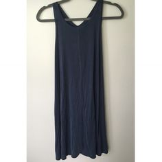 Urban Outfitters Dress Very casual and comfortable T-shirt style dress. Pretty washed out blue color. Brand new with tags. Urban Outfitters Dresses