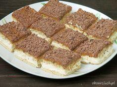 Obżarciuch: Krówka bez pieczenia w 10 minut No Bake Desserts, Healthy Desserts, Aga, Tiramisu, Banana Bread, French Toast, Food And Drink, Sweets, Baking