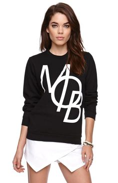 Married to the Mob Crew Neck Fleece - Win a $1,000 PacSun Gift Card #pacsun #wishandpin sweatersforevah