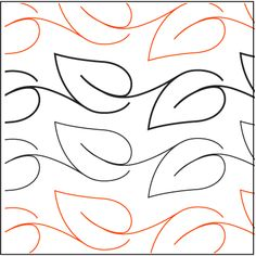 """Free """"Leaf Sashing"""" Pantograph on Urban Elementz Quilting Stencils, Quilting Templates, Longarm Quilting, Quilt Square Patterns, Machine Quilting Patterns, Patchwork Quilt, Border Embroidery Designs, One Stroke, Custom Quilts"""