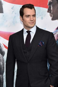 Henry Cavill Photos: The Launch of Bai Superteas at the 'Batman v Superman' Premiere