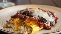 Blogger Angie McGowan of  Eclectic Recipes shares a beefy manicotti recipe that you can make ahead.
