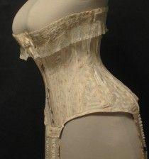1900's Elegant Edwardian Corset