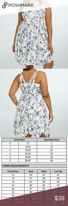 TORRID FLORAL PRINT CHIFFON SUNDRESS More to come torrid Dresses