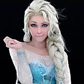 Insanely Realistic Digital Art of Elsa in FROZEN