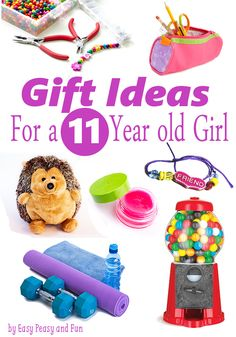 Best Gifts for a 11 Year Old Girl - Easy Peasy and Fun