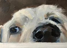 """Daily Paintworks - """"Feeling Lazy"""" - Original Fine Art for Sale - © Gary Bruton"""