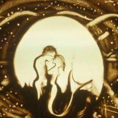 "Saatchi Art Artist sand art bluto; Printmaking, ""passion - Limited Edition 3 of 3"" #art"