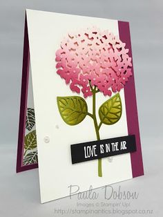 We're loving the coloring techniques on this card made with the Thoughtful…