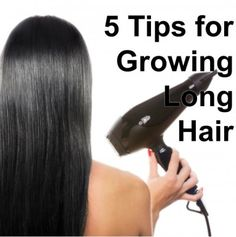 5 Tips for Growing Long Hair