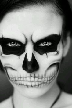 Day of the Dead(Dia de los Muertos) face paint ...