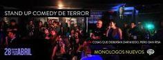 Stand Up Comedy de Terror. (Cosas que deberían dar miedo pero dan risa) ... http://desktopcostarica.com/eventos/2013/stand-comedy-de-terror