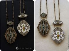 The Beading Gem's Journal: Polymer Clay Mixed Media Jewelry by Cosmogony