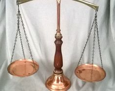 Antique Justice Scales
