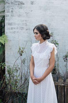 1970's Vintage Wedding Dress