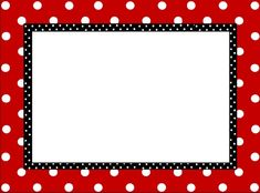 Frame Clipart mickey mouse 2 - 660 X 488 Red Classroom, Mickey Mouse Classroom, Disney Classroom, Borders For Paper, Borders And Frames, Mickey Mouse Frame, Polka Dot Labels, Polka Dots, Scrapbook Da Disney