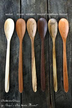 Sculpture bois Ultimate Cooking Spoon Stir up something incredible. Wooden Spoon Carving, Carved Spoons, Wood Spoon, Stamped Spoons, Hand Stamped, Wood Turning Lathe, Wood Turning Projects, Wood Lathe, Lathe Projects
