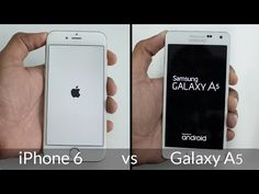 Samsung Galaxy vs iPhone 6 im Speed Test (Video) ✔ Android Video, Test Video, Speed Test, Apps, Videos, Iphone 6, Samsung Galaxy, App