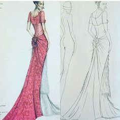#fashiondesigner #drawing #ilustration #fashionbook