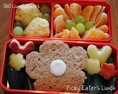 360 Lunch Boxes: Flower Garden Lunch for Kids