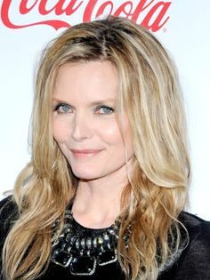 Michelle Pfeiffer Long Wavy Cut hair-and-beauty