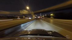 Dallas Night Lapse video in the Dodge Charger SRT8 4k