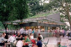 11) Shake Shack, New York City  It's one of America's best fast-food burgers. What started as a hot dog cart in Madison Square Park in 2001 has made history. What's the big deal? Quality. And one of the juiciest cheeseburgers (100 percent all-natural Angus beef, no hormones, no antibiotics) you'll ever find on a soft, grilled potato roll. Then there's the Shack-cago dog, which you could argue is the best.