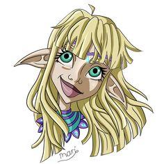 Here is my finished illustration  #elfgirl #elfdrawing #digitalart #digitalpainting #digital #blondeelf #illustrationartists #illustration #characterdesign #doodlesketch Illustration Artists, Digital Illustration, Illustrations, Elf Drawings, Doodle Sketch, Digital Art, Character Design, Fictional Characters, Illustration