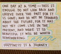 ONE DAY AT A TIME