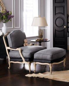2 tone chair love it!!  Black door