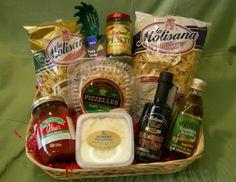 ideas for an Italian basket