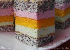 Ciasto Tęcza.