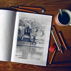 and top view #drawing #street #sketchbook #sketch #art #pencil #arts_help #theartslovers #freshart #baigart #artistic_support #instartpics #sketch_daily #juventudartista #art_worldly #artsanity #artist_sharing #Art_Spotlight #art_empire #moanart #art_discover_ #ladyterezie #artworksfever