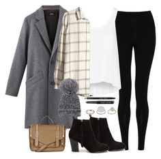 """Blizzard"" by jasmine-shum ❤ liked on Polyvore featuring M&S Collection, rag & bone, H&M, Nly Shoes, Topshop and Bobbi Brown Cosmetics"