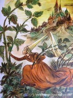 il. Jan Marcin Szancer (1902-1979) Children's Book Illustration, Book Illustrations, Legends And Myths, Folklore, Mythology, Childrens Books, Illustrators, Fairy Tales, Art Pieces