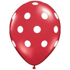 See classic black and white polka dot patterns! For black polka dot balloons these latex Big Polka Dot Balloons are perfect. Coming in a value pack of each latex balloon is black with white polka dots.