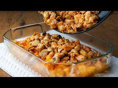Nemáte čas a celá rodina má hlad? Stačí dát péct bramborem s masem!| Cookrate - Czech - YouTube Cauliflower, Meals, Chicken, Vegetables, Cooking, Ethnic Recipes, Oven, Carne Asada Fries, Entrees