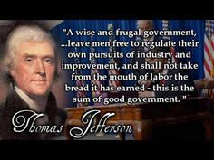 The Founding Fathers seem to have had a much different idea of government than our current leaders (or even than most Americans) seem to have.