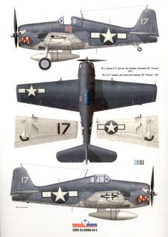 aircraft profiles f6f hellcat - Google Search