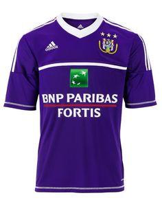 87c7e14960b RSC Anderlecht Home Kit 2012-13 Adidas Football Kits, Football Soccer, Soccer  Jerseys