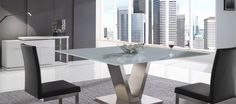 Looking for dining furniture in Melbourne, Australia? At Gainsville we offer a range of glass top dining tables with further options to customise available.