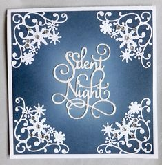 Snow Decoration Dies #Illustration Art Snow Decorations, Square Envelopes, Dark Ink, Alcohol Markers, Square Card, Blue Square, Hibiscus Flowers, My Flower, Love Art