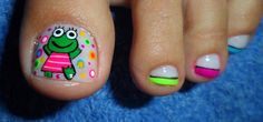 Pretty Pedicures, Pretty Toe Nails, Pretty Toes, Fun Nails, Toe Nail Art, Manicure, Nail Designs, Beauty, Diana