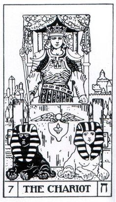 The Chariot - Builders of the Adytum Tarot (B.O.T.A. Tarot)