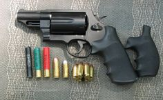 SW Governor w/Hogue grip from SW Magnum Smith And Wesson Revolvers, Smith N Wesson, Weapons Guns, Guns And Ammo, Smith And Wesson Governor, Outdoor Survival Gear, Assault Weapon, Shooting Gear, Firearms