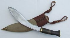 Vintage Military Gurka Kukri Knife - Field Service Antique Arms