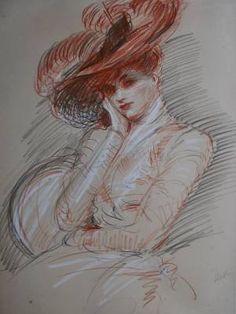 Qui est Paul-César Helleu et la valeur de ses dessins, en bref : Paul César HELLEU est un artiste né en 1859.